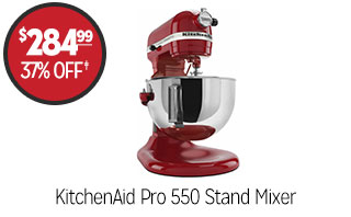 KitchenAid Pro 550 Stand Mixer - $284.99 - 37% off‡
