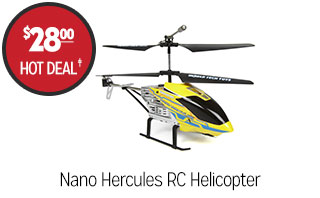 Nano Hercules RC Helicopter - $28.00 - Hot Deal‡