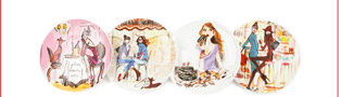 HAVE YOUR CAKE DESSERT PLATES