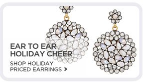 Holiday Price Earrings - Shop Now!