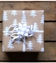 white wrap accessory box - 24 pieces