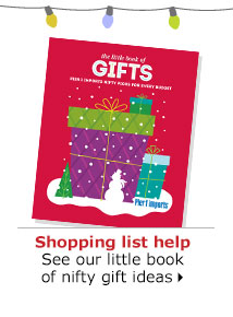 Shopping list help See our little book of nifty gift ideas