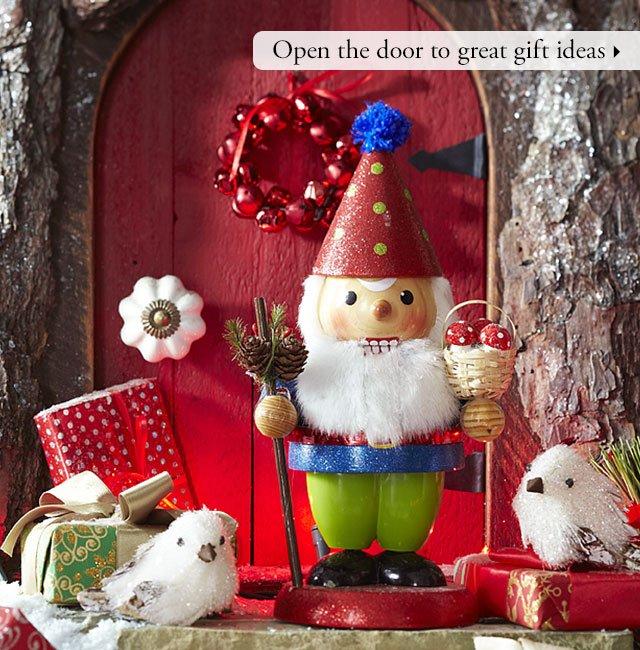Open the door to great gift ideas