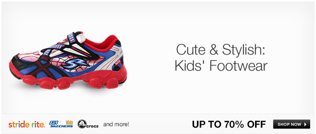 Cute and Stylish: Kids Footwear