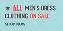 All Mens Clothing on Sale