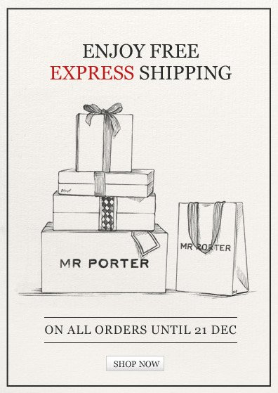 Enjoy FREE Express Shipping on all orders until 21 Dec. Shop now