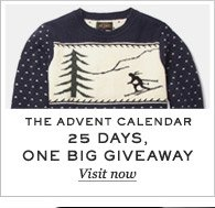 The Advent Calendar: 25 Days, One Big Giveaway. Visit now