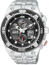 Men's Citizen Promaster Carbon Alarm Chronograph Radio Controlled Eco-Drive