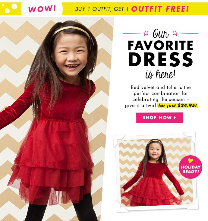 Our Favorite Holiday Dress - Just $24.95!