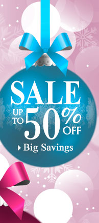 SHOP Big Savings - up to 50% OFF!