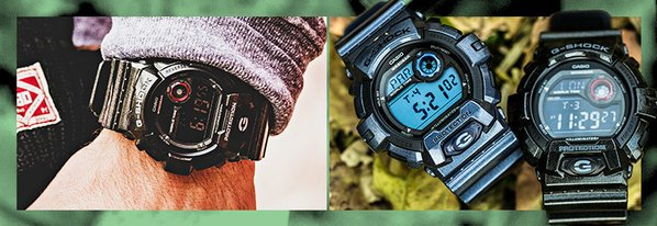Shop NEW G-Shock & More from $99