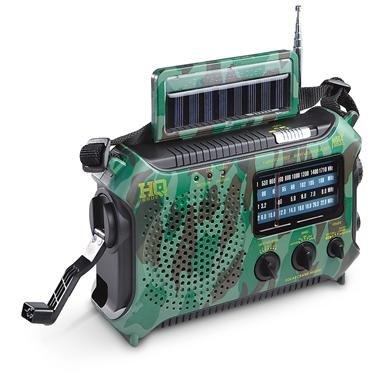 HQ Issue™ Multi-Band Solar / Dynamo Radio