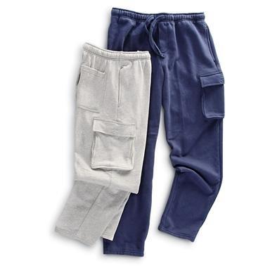 2 Rio Cargo Fleece Pants