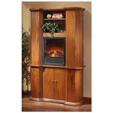 CastleCreek™ Gun Storage Fireplace