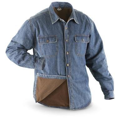 Guide Gear® 1977 Fleece-lined Denim Shirt