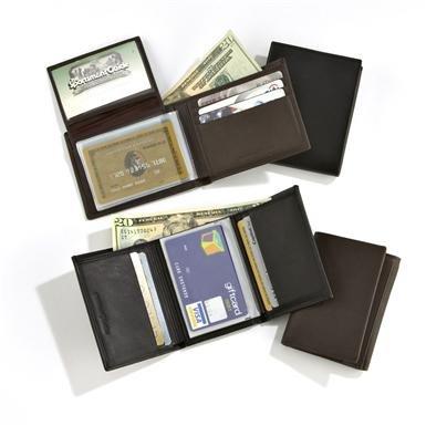 Calfskin Leather Wallet