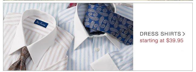 Dress Shirts: Starting At $39.95