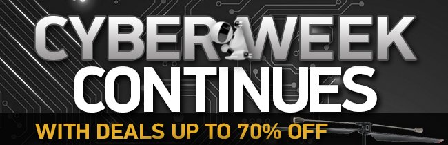 Save Big with these Great offers for Cyber Week!
