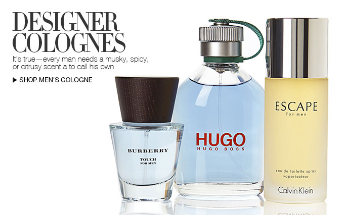 Shop Designer Colognes for Men