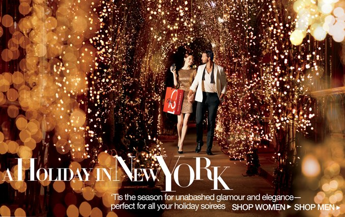 Shop the Look: A Holiday In NY