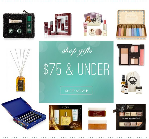 Shop gifts $75 and under!