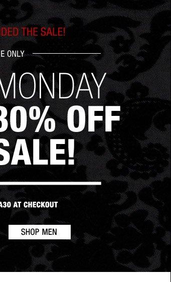 Cyber Monday - Shop Men