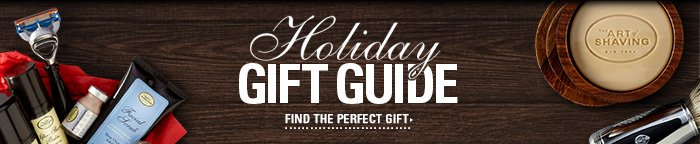 Holiday Gift Guide - Find The Perfect Gift