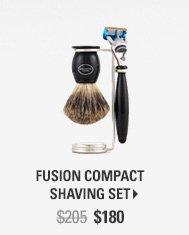 Fusion Compact Shaving Set - $180