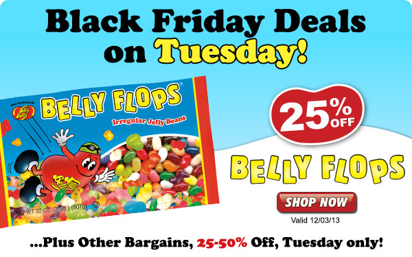 Extended Black Friday Deals: 25% off Belly Flops