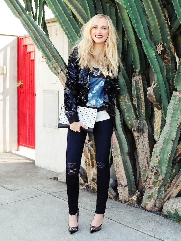 How To Do Vintage: The Sequin Jacket