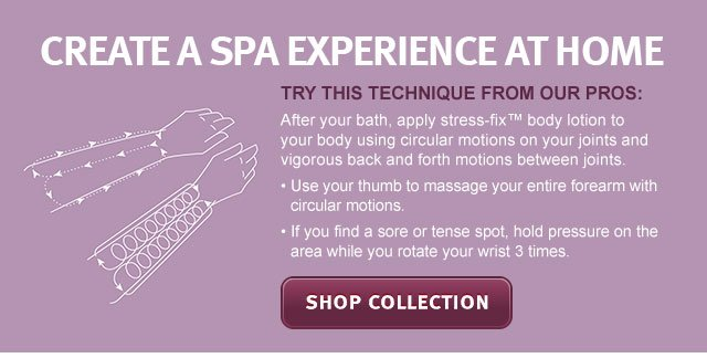 create a spa experience at home. shop collection.