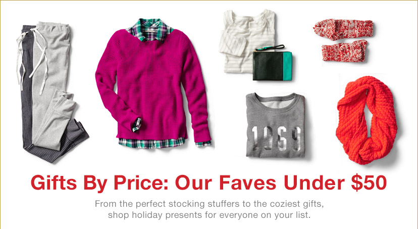 Gifts By Price: Our Faves Under $50