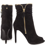 Charise - Black Suede
