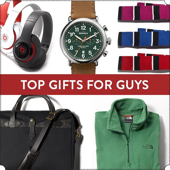 TOP GIFTS FOR GUYS