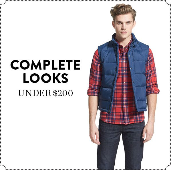 COMPLETE LOOKS - UNDER $200