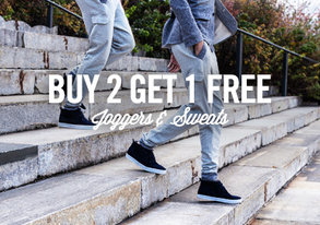 Shop Buy 2 Get 1 Free: Joggers & Sweats