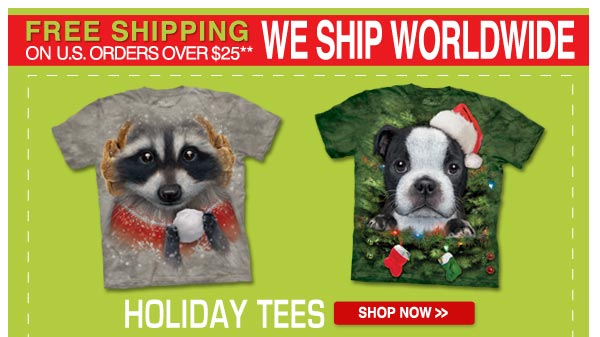 Holiday Tees: Shop Now