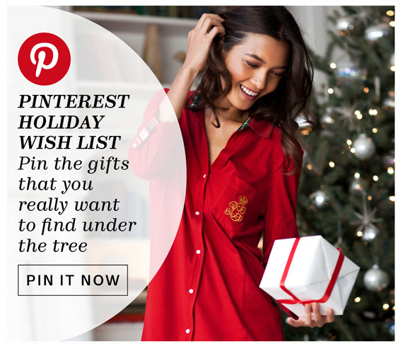 Pinterest Holiday Wish List. Pin It Now.