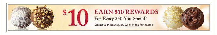 $10 REWARD CARD For Every $50 You Spend****