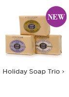 Holiday Soap Trio