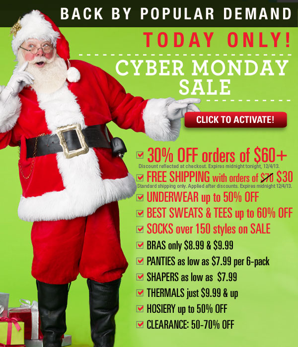 Hours left: Biggest Cyber Monday Sale