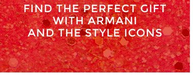 Find the perfect gift with Armani and the Style Icons