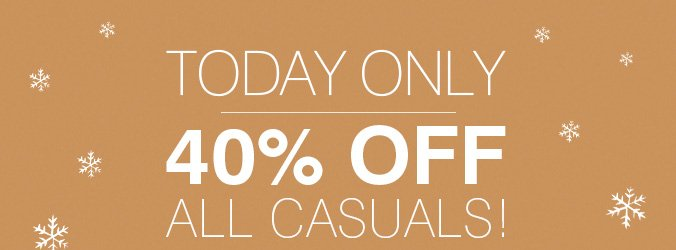 Click here to shop casuals.
