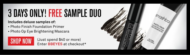 3 Days Only! Free Sample Duo