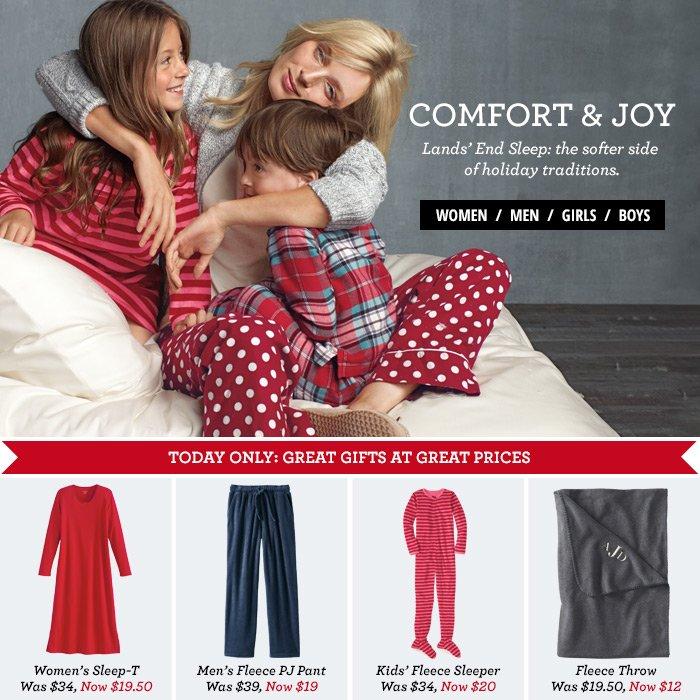 Comfort & Joy - Lands' End Sleep