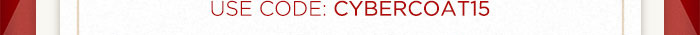 USE Code: CYBERCOAT15