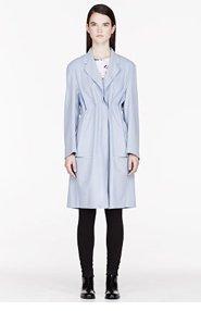 ACNE STUDIOS Lavender Wool Dust Melton coat for women