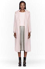ROKSANDA ILINCIC Pink Textured Orson Coat for women