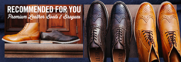 Shop J.D. Fisk: Leather Boots & Brogues