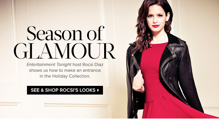 See and Shop Rocsi's Holiday Looks